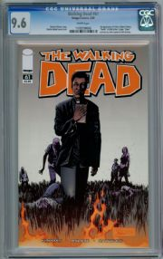 Walking Dead  #61 First Print CGC 9.6 1st App Father Gabriel Chew Image
